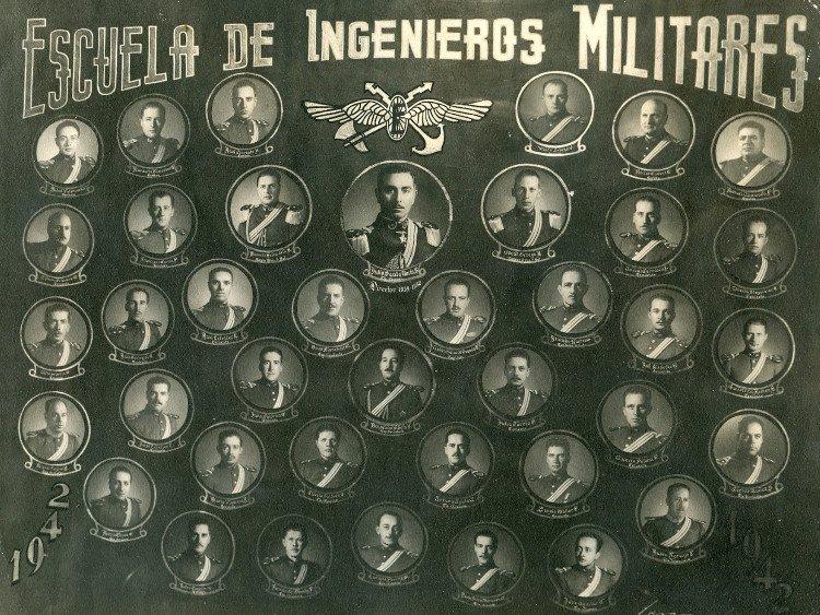 1942 escuela de ingenieros militares for Escuela de ingenieros
